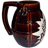 """Бокал """"Дёрни"""" 1 литр. Славянская керамика. Посуда керамическая.Сувениры, керамика."""