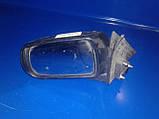 Зеркало заднего вида левое Mazda 626 GF 1997-2002г.в. комби черное без подогрева, фото 3