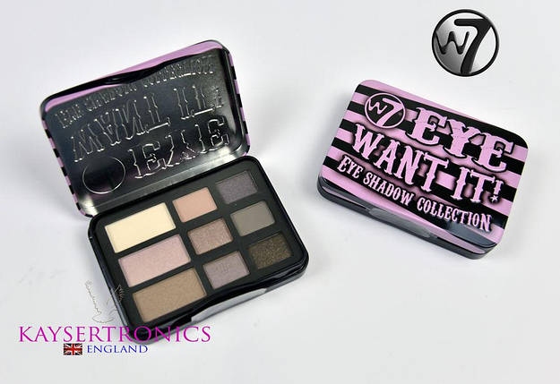 Палитра теней W7 Eye Want It 9 Eyeshadow Palette, фото 2
