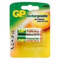 Аккумуляторна батарейка AA Peak Power NiMH (R-6) GP 1300 mAh (130AAHC-U4) (2шт на блистере)