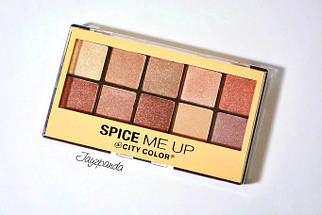 Палитра теней City Color Spice Me Up Eyeshadow, фото 3