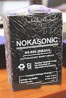 Аккумулятор(АКБ) Nokasonic 6 вольт 6,0 А/ч.Для весов,радио