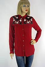Жіноча сорочка вишита  бісером і паєтками  165, фото 3