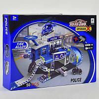 Гараж Полицейский участок с машинками. Игровой набор для детей