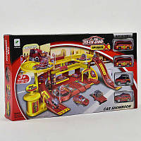Многоуровневый гараж с машинками. Детский игровой набор