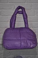 Спортивная сумка Nike модель Пуховик. (Фиолетовый+серебро). Лучшие цены!!!