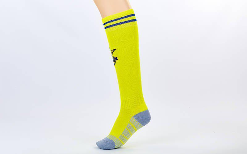 Гетры футбольные детские Сборная Украины ETM1720 (27-34,  жёлто-синий) (реплика)