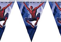 Гирлянда растяжка Человек Паук Спайдермен