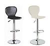 Барный стул, визажный стул, стул для кассира, стул для администратора (РАМЗЕС белый), фото 2