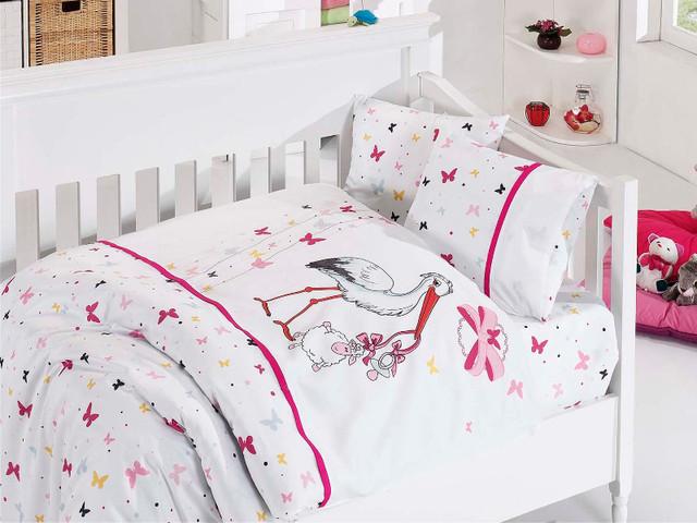 Постельное белье в кроватку бамбук