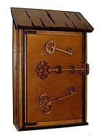 Ключница деревянная Малая, фото 1