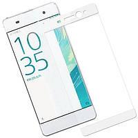 Защитное стекло 3D Full Screen для Sony Xperia XA Dual F3112 / XA F3111, MOCOLO Белое