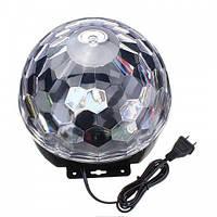 Светомузыка диско шар Magic Ball Music (6 цветов )