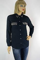 Жіноча блузка-сорочка вишита бісером і паєтками 182 598bcbfe605cc