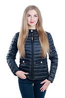 Женская куртка на холлофайбере FINEBABYCAT Черный, M – 44