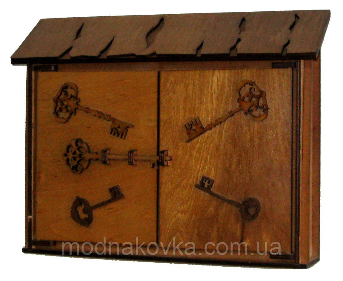 Ключница деревянная Большая