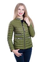 Женская куртка на холлофайбере FINEBABYCAT Хаки, L – 46