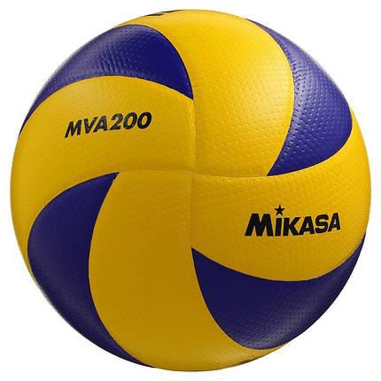 Волейбольный мяч Mikasa MVA200, фото 2