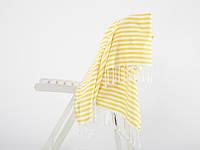 Полотенце пляжное Irya Rodos желтое 90*170