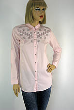 Жіноча сорочка вишита  бісером і паєтками  197, фото 3