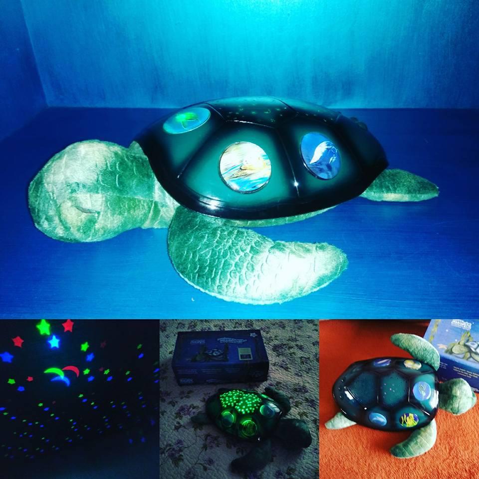 Ночник Черепаха проекция звездного неба 3 в 1