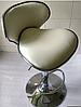 Барный стул с мягким сиденьем, визажный стул бежевый, стул для кассира (САЛЛИ бежевый), фото 2