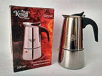 Гейзерная кофеварка Krauff 26-203-002 200 мл
