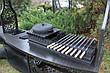 """Мангальная зона с угловым столом """"Тамерлан"""" (для установки на открытую поверхность) максимальная комплектация, фото 4"""