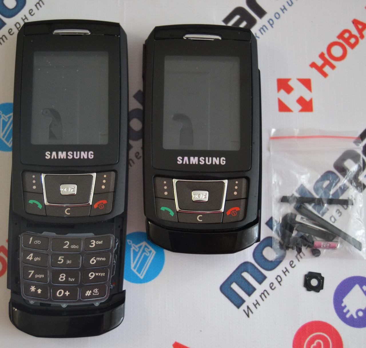 Корпус для телефона Samsung D900 в сборе (Качество ААА) (Черный) Распродажа! 69efccc81d499