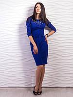 Трикотажное платье приталенного силуэта размеры С,М,Л