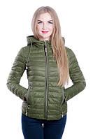 Женская куртка на холлофайбере FINEBABYCAT 1 Хаки, M – 44