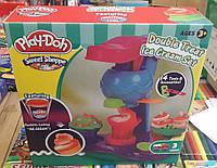 """Набор Пластилина Play-Doh Double Treat Ice Cream Set """"Фабрика мороженого"""" Ps"""