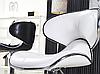 Барный стул с мягким сиденьем, визажный стул бежевый, стул для кассира (САЛЛИ бежевый), фото 3