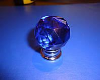 Ручка шарик стекло синий  , фото 1