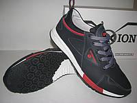 Туфли мужские кожаные демисезонные спорт-комфорт (кроссовки) OXION wateproof