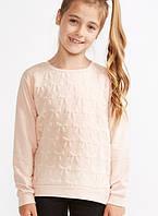 Батник для девочки, кофта, свитер с бантиками SUGAR SQUAD, 9-10 лет