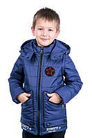 """Весенняя куртка-жилет  для мальчика """"Джек"""" (104-134р)"""