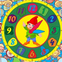 Деревянная игрушка сортер:  часы для мальчиков, 6240