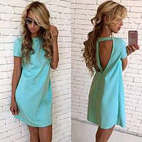 Короткое женское платье на лето