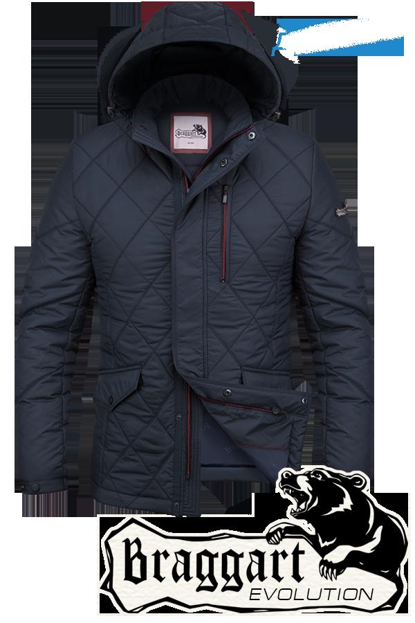 Стильная мужская демисезонная куртка Braggart арт. 1214