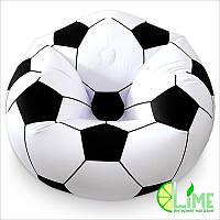 Надувное кресло, футбольный мяч