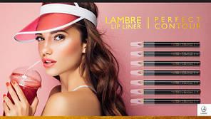 УЖЕ В ПРОДАЖЕ! Новая коллекция карандашей для губ Lambre Lip Liner Perfect Contour!