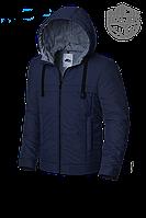 Мужская синяя осенняя куртка MOC (р. 48-56) арт. 679Е