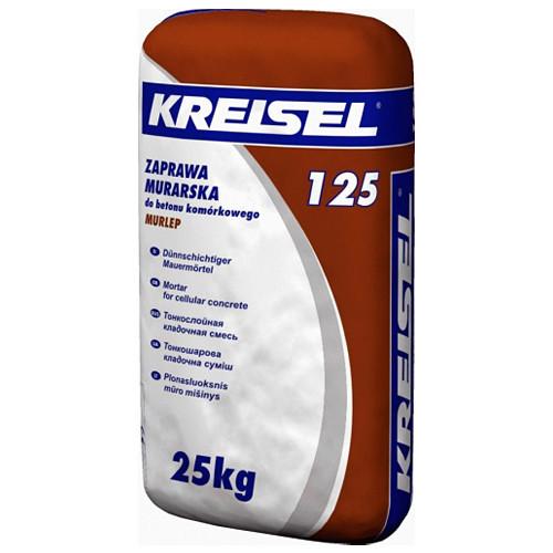 Клейова суміш для блоків з пористого бетону Kreisel 125 (25 кг)