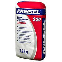 Клейова суміш армуюча для пінополістиролу Kreisel 220 (25 кг)