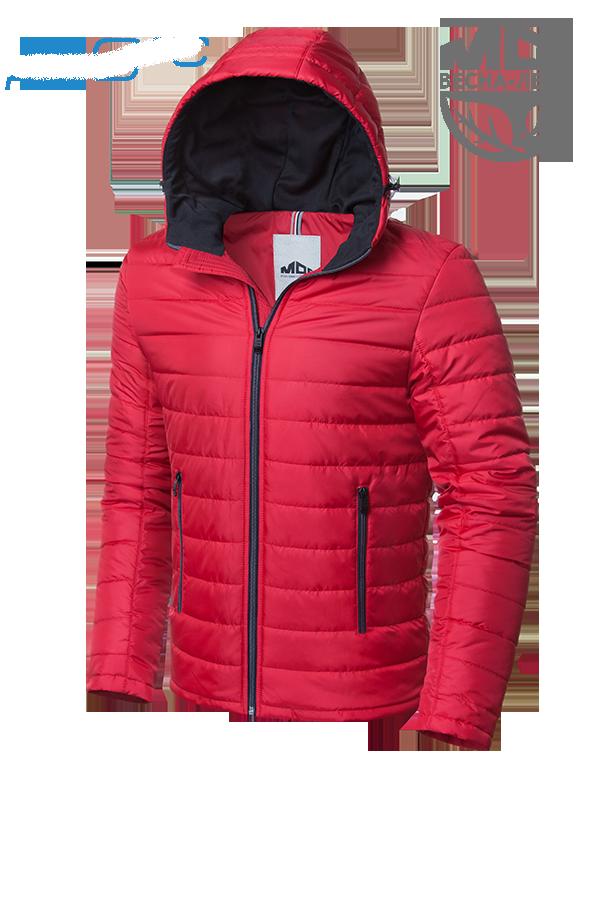 Мужская красная демисезонная куртка MOC (р. 46-56) арт. 968В