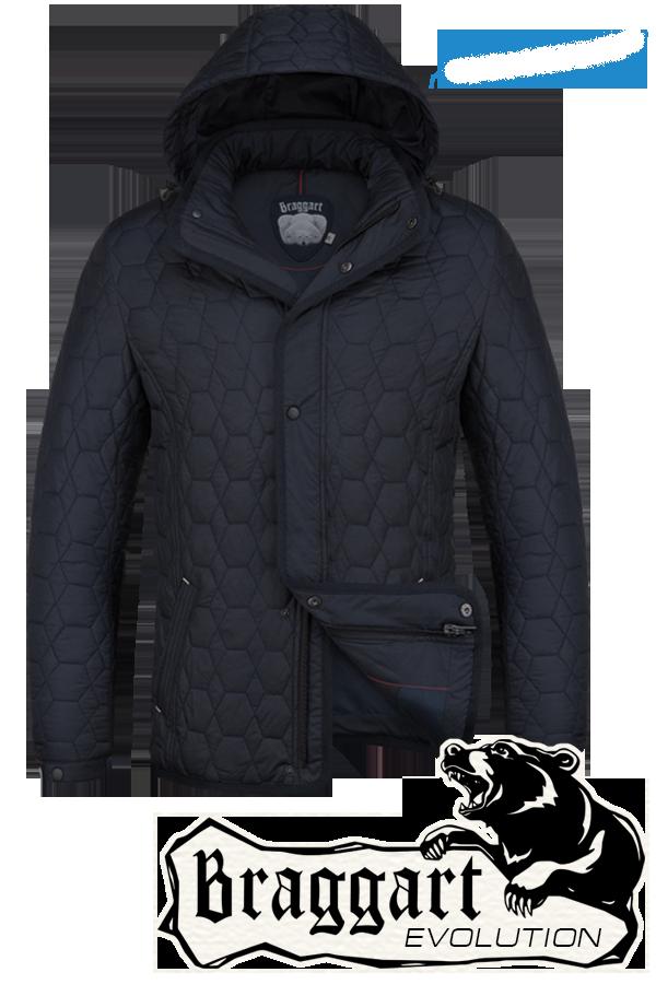 Мужская модная осенняя куртка Braggart арт. 1250