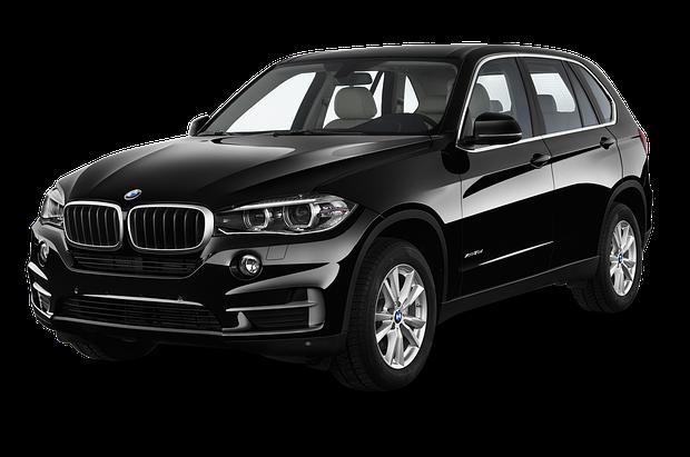 Лобовое стекло BMW X5 F15 с местом под датчик и молдингом (2014-)