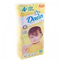 Подгузники DADA extra soft 4+ (9-20 кг) 50 шт