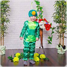 Красивый карнавальный костюм Кузнечик